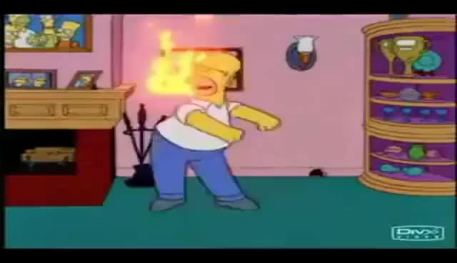 Watch and share Homero Simpson Soy Intelectual Muy Inteligente GIFs on Gfycat