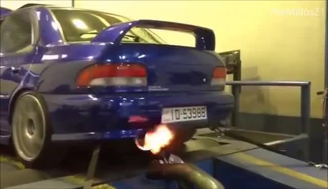 Watch and share Subaru Flames GIFs on Gfycat