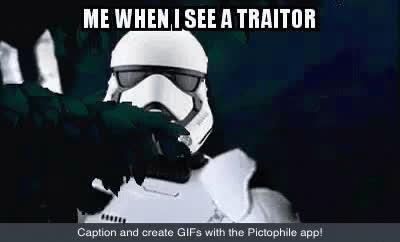 Traitor Starwars GIFs