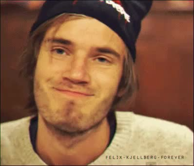 Watch Possible Futures Possible Futures GIF on Gfycat. Discover more Felix kjellberg, Mine, My gifs, Pewdie, Pewdiepie, Pewdiepie gifs, Pewds, Swedish, Youtube, Youtuber, broarmy, brofist, cute, felix arvid ulf kjellberg, hats GIFs on Gfycat