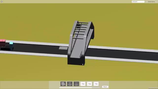 Watch and share Monty's Bridge Trucks 05 GIFs by Jordan Miles on Gfycat