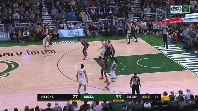 Watch and share Detroit Pistons GIFs and Milwaukee Bucks GIFs on Gfycat
