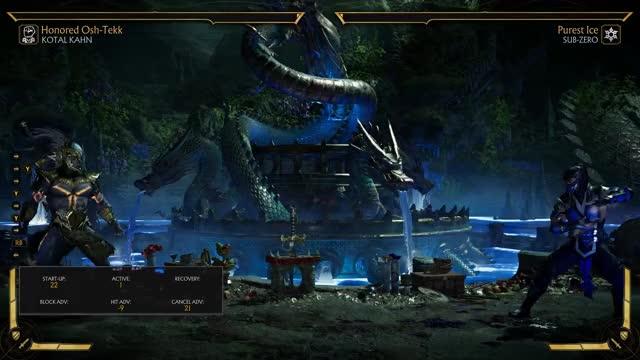 Watch and share Mortal Kombat 11 GIFs and Wave Dash GIFs by Korinoken on Gfycat