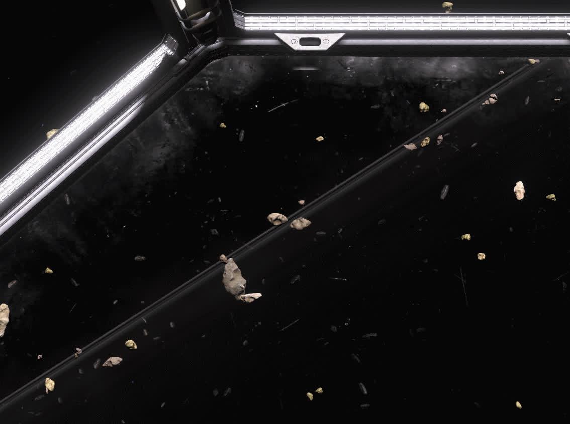 Battlescape, proceduralgeneration, Drifting Trough Space GIFs