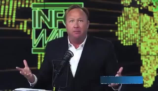 "Watch and share ALEX JONES ""HILLARY CLINTON IS A GOD DAMN DEMON"" GIFs on Gfycat"
