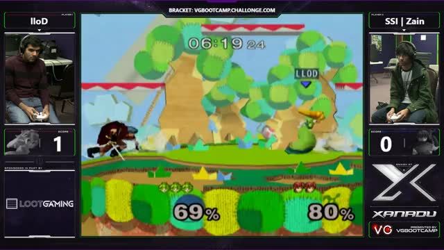 S@X Monthly - lloD (Peach) Vs. SSI | Zain (Marth) - SSBM Losers Finals - Smash Melee