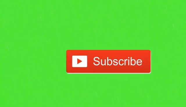 Watch and share Animated Subscribe Button | Green Screen Footage #1 GIFs on Gfycat
