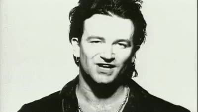 Watch and share Bono Who's Gonna Ride Your Wild Horses GIFs on Gfycat