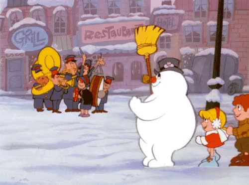 Watch this snow man GIF on Gfycat. Discover more Christmas, Merry Christmas, Xmas, christmas, classic, frosty the snowman, happy Christmas, happy christmas, happy holidays, merry christmas, movies, snow, snow man, snowman, xmas GIFs on Gfycat