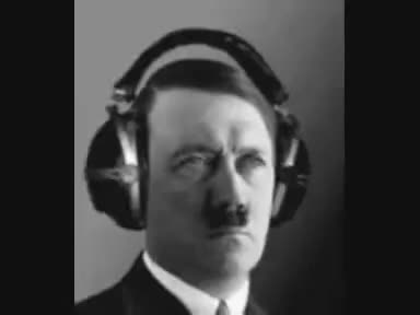 Headphones, Hitler, Hitler Headphones GIFs