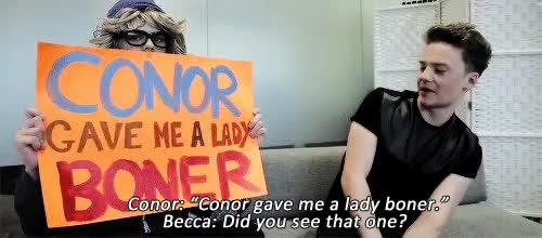Becca meets Conor Maynard | crabstickz