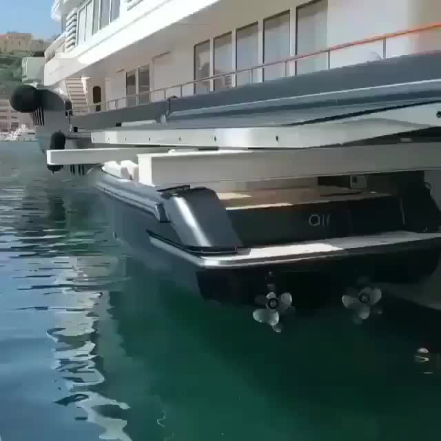 boat, yacht, yacht swallows another boat GIFs
