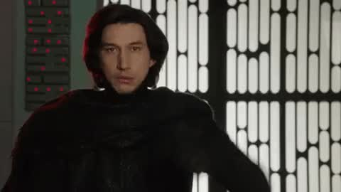 Watch and share Adam Driver GIFs and Star Wars GIFs on Gfycat