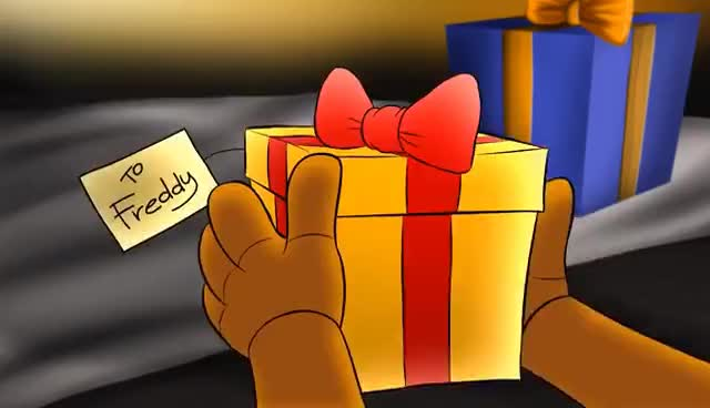 Five Nights at Christmas - Freddy's Gift [Tony Crynight] GIFs