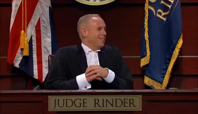 Watch and share Judge Rinder Moron GIFs on Gfycat