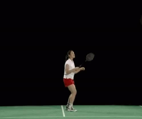 Watch and share Women's Badminton GIFs on Gfycat
