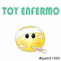 Watch and share IMAGEN BBM: TOY ENFERMO GIF GIFs on Gfycat