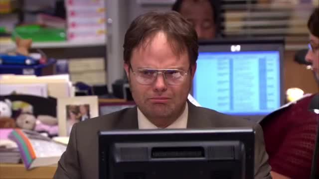 Watch and share Dwight Schrute GIFs and The Office GIFs by GIF Brewery Developer on Gfycat