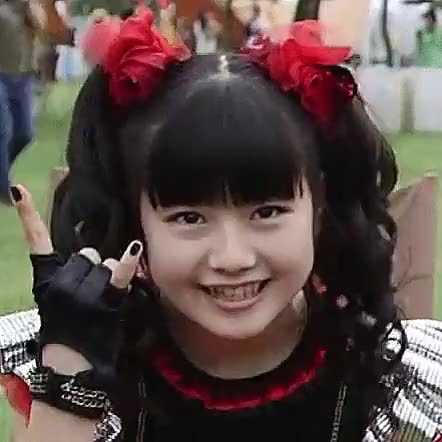 Watch and share Babymetal GIFs and Yuimizuno GIFs by jabberwokk on Gfycat