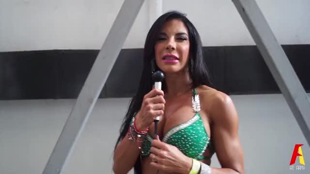 Watch Musclemania Latino 2016 (Noviembre 2016) GIF on Gfycat. Discover more Brenda Gonzalez, Brenda Quintanilla, Edgar Romero, Fisicoconstructivismo, Fisicoculturismo, Fit, Fit Balance, Fitness, Model, Yessica Prado GIFs on Gfycat