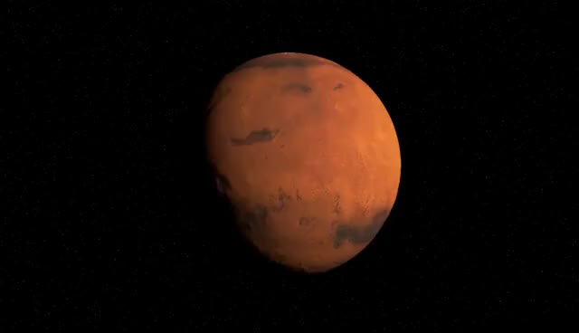 Watch and share Animation 3D Rotation De Mars - HD GIFs on Gfycat