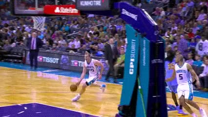Watch and share Cody Zeller — Charlotte Hornets GIFs by Off-Hand on Gfycat