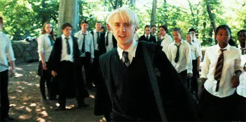 Watch Draco Malfoy  GIF on Gfycat. Discover more Draco, Draco Malfoy, Harry Potter, Malfoy, boho, films, hipster, jk Rowling, magic, movies, vintage GIFs on Gfycat