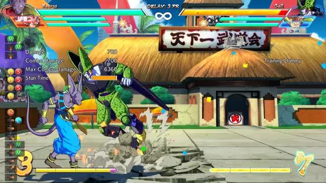 Watch Beerus combo 1 GIF by Tsukinokami (@tsukinokami) on Gfycat. Discover more Android 21, Beerus, DBFZ, Dragon Ball FighterZ, FGC, Goku Black, combos, fighting games GIFs on Gfycat