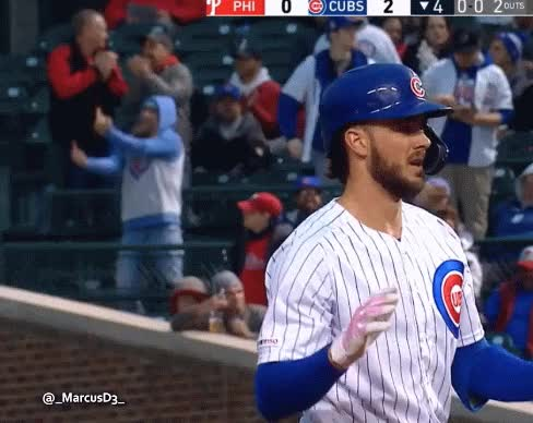 Watch and share Cubs Fan Double Bird GIFs by MarcusD on Gfycat
