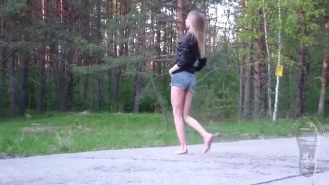 Watch Barefoot in Cutoffs GIF by straycatstrut on Gfycat. Discover more jeans, legs, woman GIFs on Gfycat