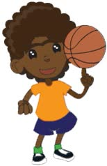 Watch and share Niño Jugando Basketball animated stickers on Gfycat