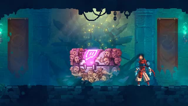 Watch Twitch Chest GIF by Dead Cells !  (@indiecatapult) on Gfycat. Discover more castlevania, dark souls, dead cells, games, gaming, indie game, metroidvania, nintendo switch, platformer, ps4, roguelite, switch, xb1 GIFs on Gfycat