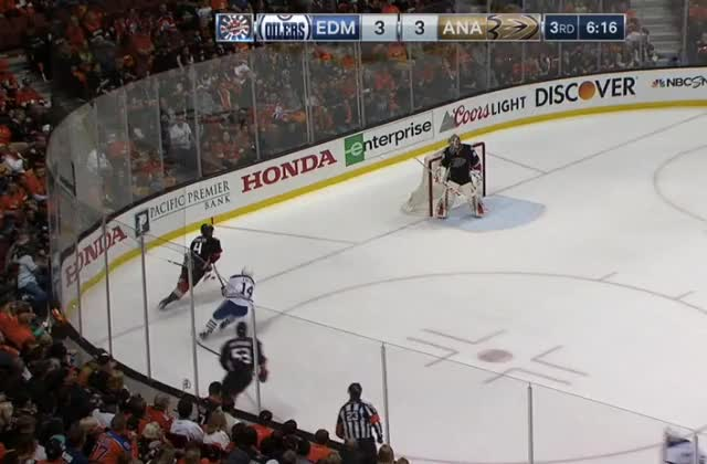 Watch and share Lucic Hit GIFs by cultofhockey on Gfycat