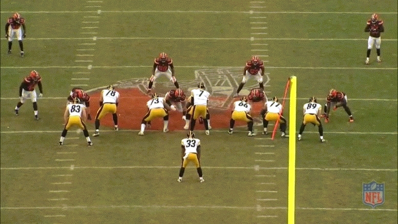 Steelers fumble GIFs