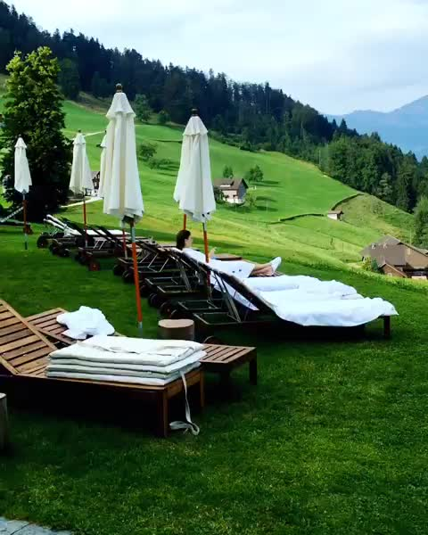 Watch and share Tag Someone You Would Relax With Here 💦🧘♀️💦 😍 ? #Switzerland_Hotels 🇨🇭 GIFs by vani  on Gfycat