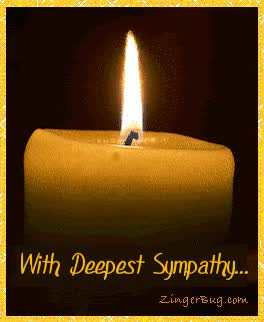 Watch and share Sympathy Candle GIFs on Gfycat