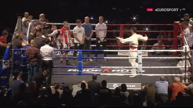Watch this boxing GIF on Gfycat. Discover more Kerman Lejarraga vs Frankie Gavin, Sports, World Here And There, boxing, kerman lejarraga vs frankie gavin, sports, world here and there GIFs on Gfycat