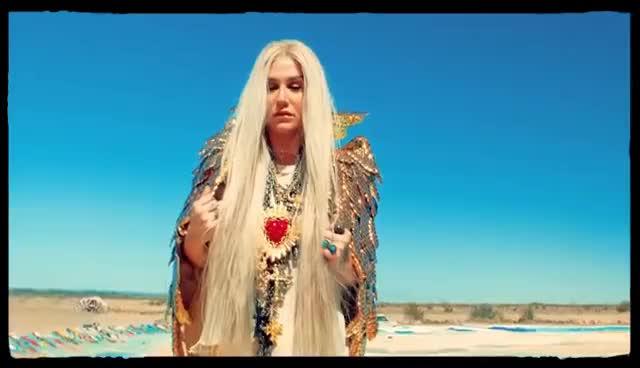 Kesha - Praying (Official Video) GIFs