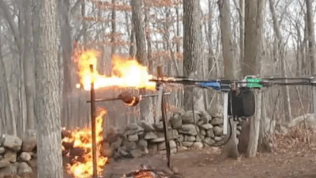 Watch this drone GIF on Gfycat. Discover more drone, drones, fire, flames GIFs on Gfycat