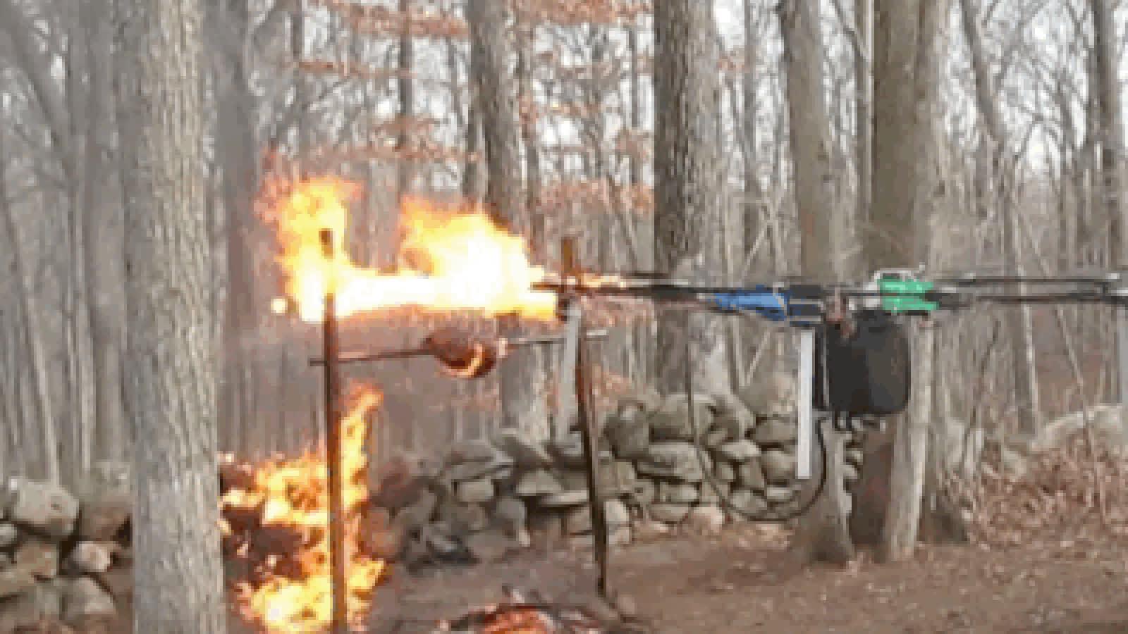 drone, drones, fire, flames, Drone GIFs