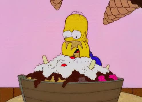 cant, chose, confused, desperate, do, dont, food, homer, hommer, hungry, it, know, simpson, take, to, what, Homer is confused GIFs