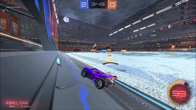 Watch and share Rocket League GIFs and Video Games GIFs by Sl1mJ1m09 on Gfycat