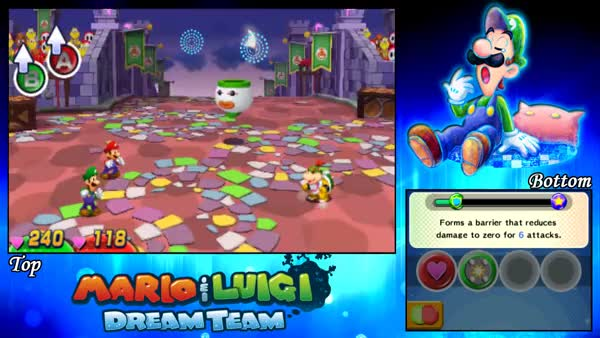 Mario Luigi Dream Team Part 82 Secret Boss Bowser Jr
