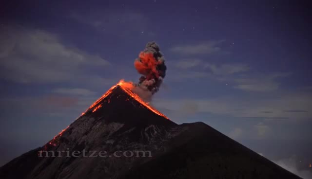 Watch and share Fuego Volcano GIFs on Gfycat