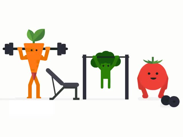 Watch and share Vegetables GIFs and Healthy GIFs by Framesequence on Gfycat