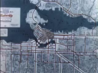 "Watch Vancouver's traffic congestion (early 1950s)source: ""Granvil GIF on Gfycat. Discover more 1950s, Vancouver, traffic GIFs on Gfycat"