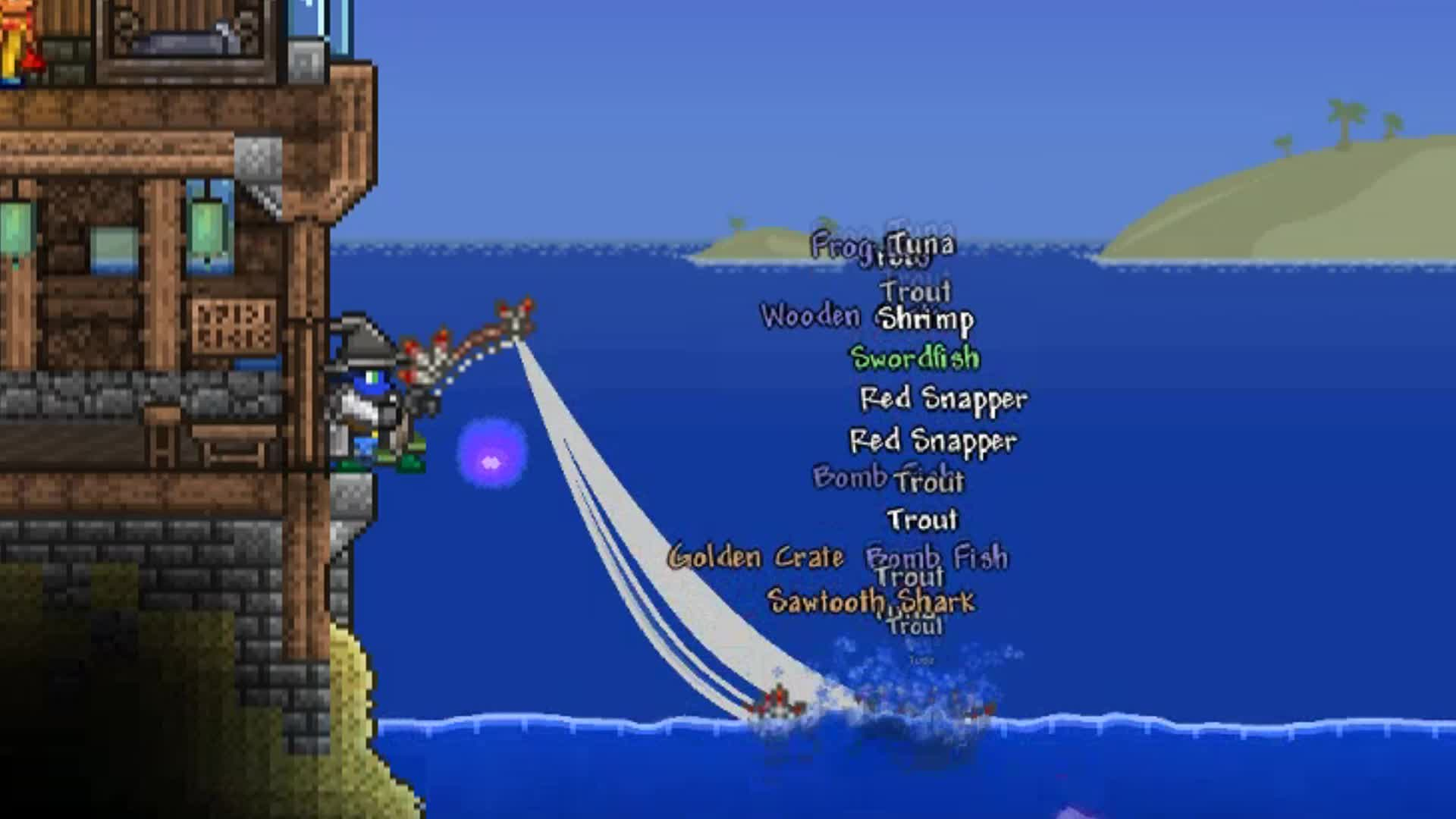 BlueJay T Gaming, Fishing, Terraria, FishingGif GIFs