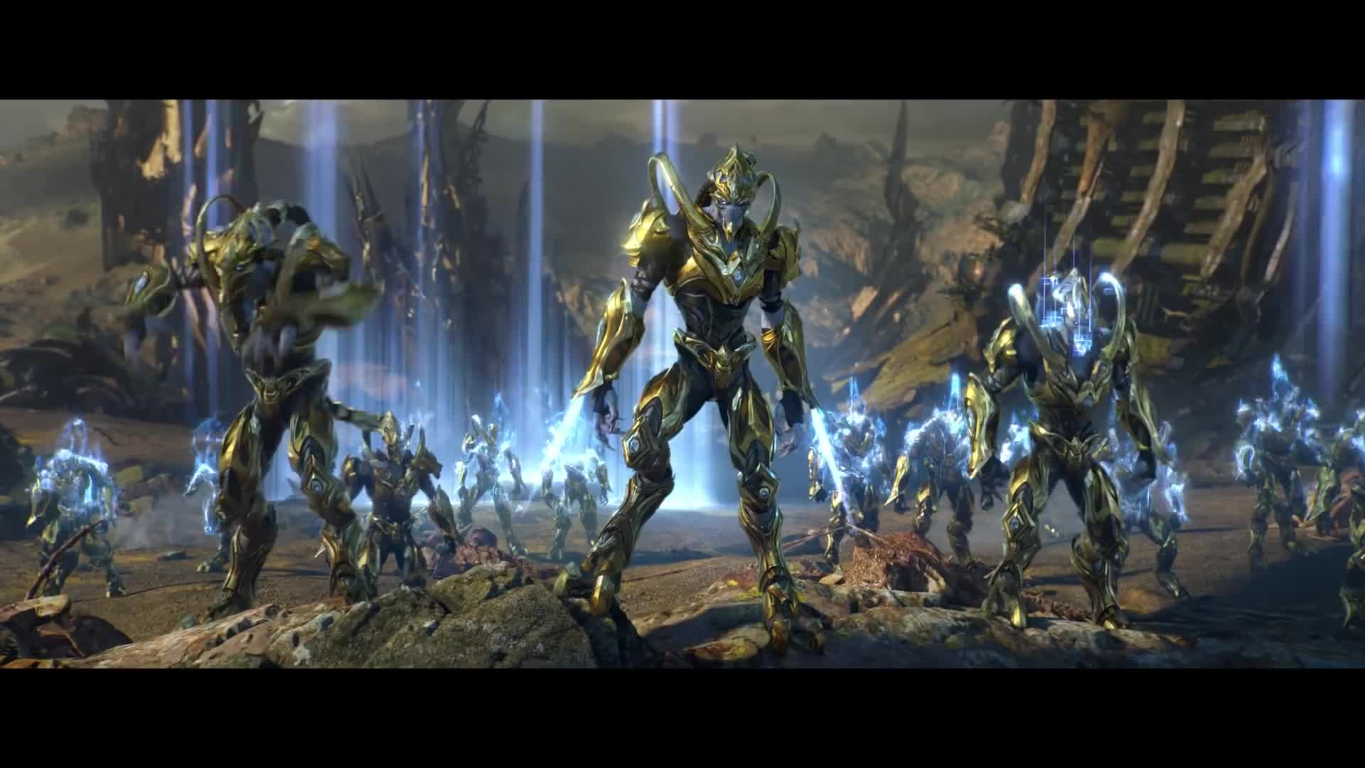 Starcraft Ii Legacy Of The Void Opening Cinematic Gif By S3rch446