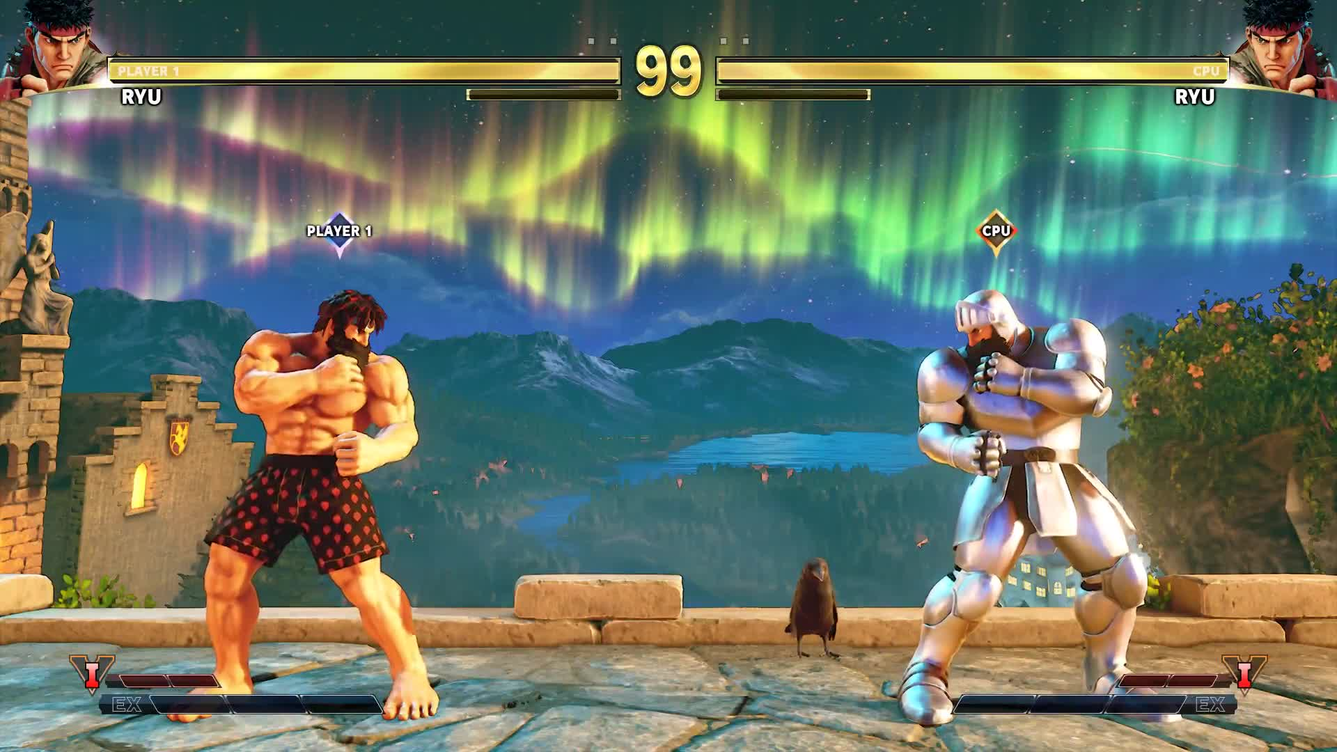 IvanLeTerrible, SF5, SFV, fighter, fighting, game, gaming, streetfighter, video game, videogame, Ryu Ghouls and Goblins outfit - Street fighter V GIFs