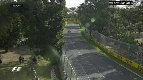 formula1gifs, Ericsson runs off the road, lap 45 - Australia 2015. (reddit) GIFs